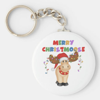 Merry Christmoose Christmas Gift Keychains