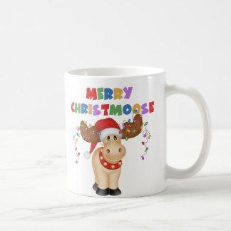 Merry Christmoose Christmas Gift Mug