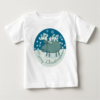 Merry Christmoose Infant T-shirt