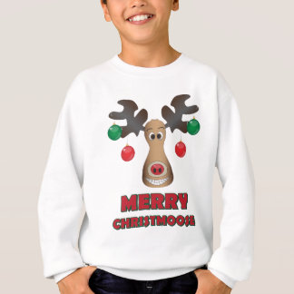 Merry Christmoose! Sweatshirt