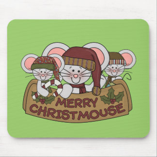 Merry Christmouse Mouse Mat