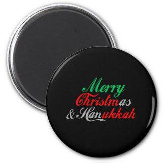 Merry Christmukkah Fridge Magnets