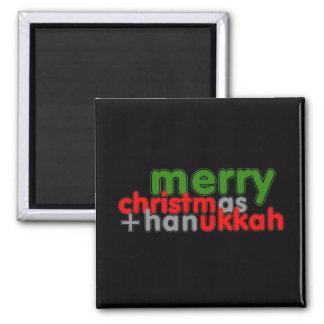 MERRY CHRISTMUKKAH REFRIGERATOR MAGNETS