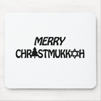 MERRY CHRISTMUKKAH - png Mouse Pad