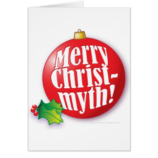 Merry Christmyth! Greeting Card