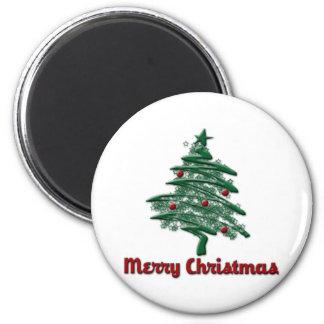 Merry Chrsitmas Refrigerator Magnet