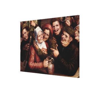 Merry Company, 1562 Canvas Print