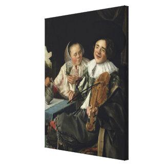 Merry Company, 1630 Canvas Print