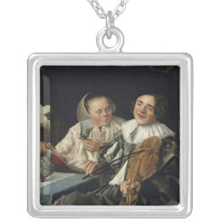 Merry Company, 1630 Silver Plated Necklace