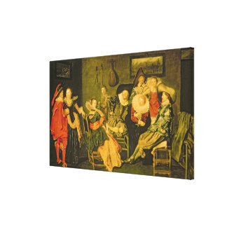 Merry Company Canvas Print