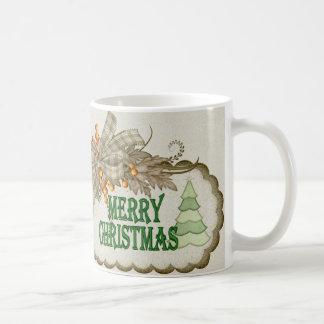 Merry Cristmas 1 Basic White Mug