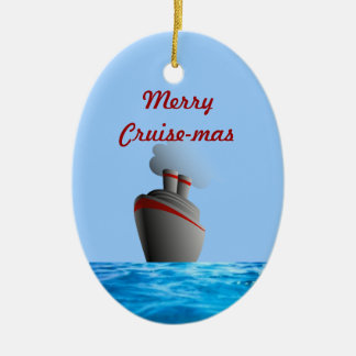 Merry Cruise-mas Dated Ornament