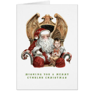 Merry Cthulhu Christmas Card