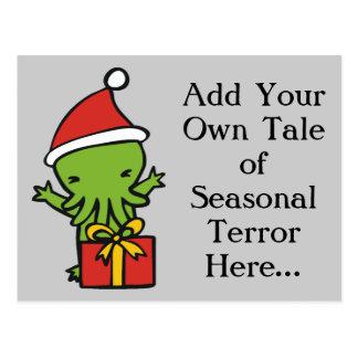 Merry Cthulmas Postcards