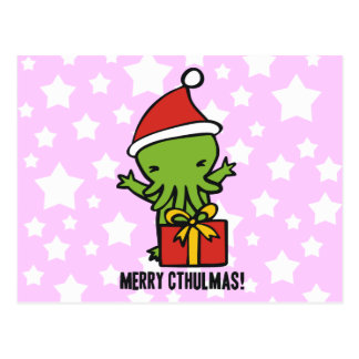 Merry Cthulmas Post Cards