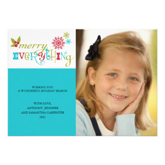 Merry Everything - Multi Cultural Holiday Invitation