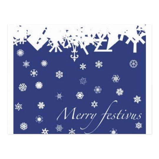 Merry Festivus Postcard