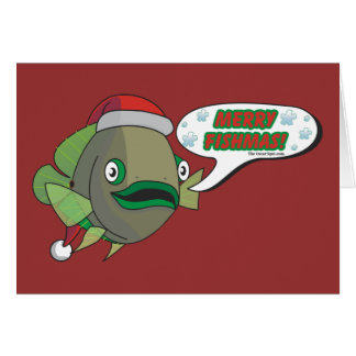 Merry Fishmas! from Oliver Card