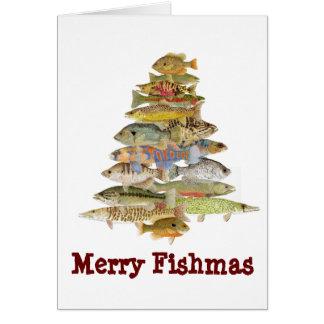 Merry Fishmas Greeting Card