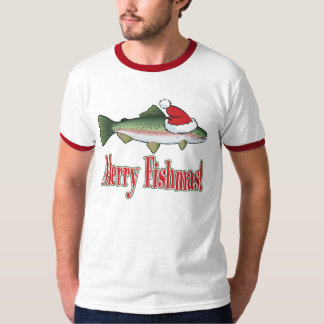 Merry Fishmas T-shirts