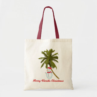 Merry Florida Christmas Tote Bag
