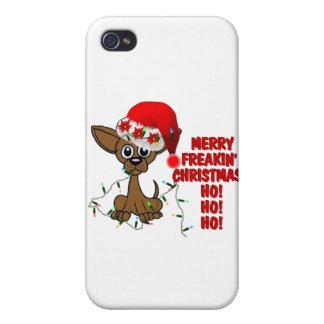 Merry Freakin' Christmas  HO! HO! HO! iPhone 4 Cover