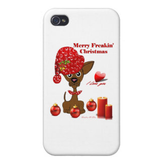 Merry Freakin' Christmas iPhone 4 Case