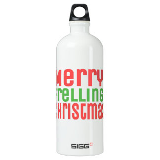 Merry Frelling Christmas! SIGG Traveller 1.0L Water Bottle