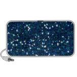 -merry-glitter-blue BRILLIANT ROYAL BLUE SPARKLES iPhone Speakers