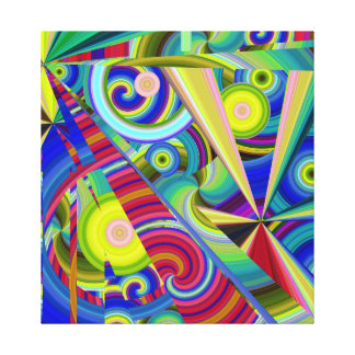 Merry go Around Canvas Print