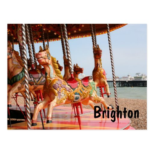 Merry-go-round, Brighton Post Cards