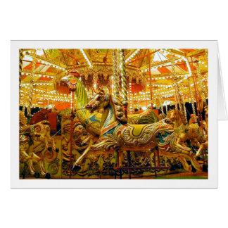 Merry-go-round / Carousel Card