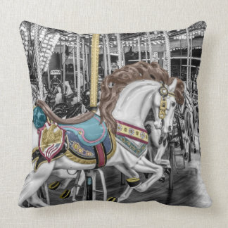 Merry Go Round Carousel Cushion