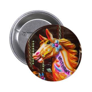 Merry-go-round Horse Pinback Button