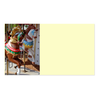 Merry-Go-Round Horses Pack Of Standard Business Cards