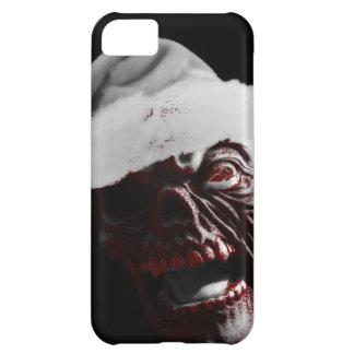 Merry Gory Halloween Zombie Santa iPhone 5C Cases