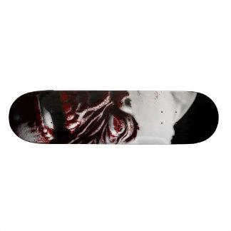 Merry Gory Halloween Zombie Santa Skate Board