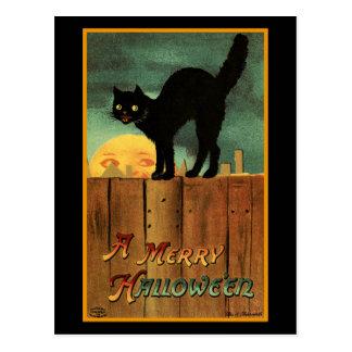 Merry Halloween Postcard