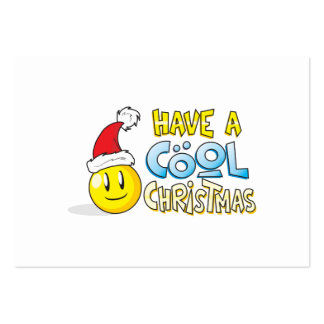 Merry Have a Cool Christmas Invites Poster Stamps Business Card Templates