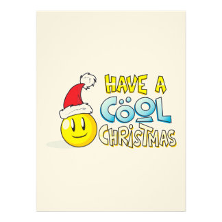 Merry Have a Cool Christmas Invites Poster Stamps