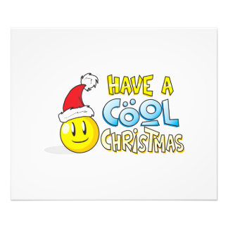 Merry Have a Cool Christmas Invites Poster Stamps Art Photo