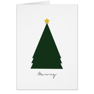 """""""Merry"""" Holiday Greeting Card (5"""" x 7"""")"""