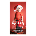 Merry Holiday Wishes   Holiday Photo Card