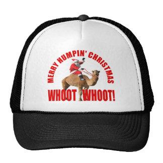 Merry Humpin' Christmas Santa & Camel Hat