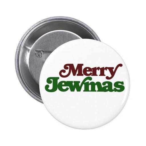 Merry Jewmas Pinback Button