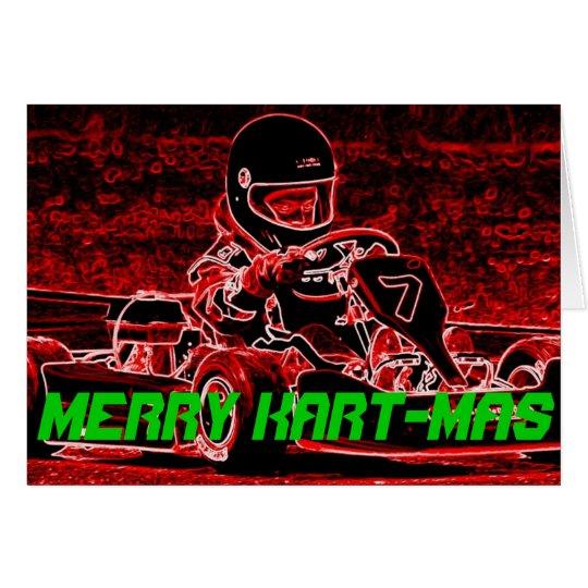 Merry Kart-Mas Card