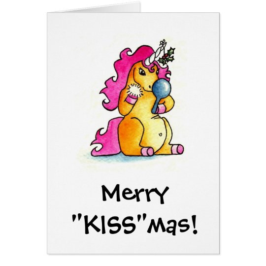 "Merry ""KISS""mas Card"