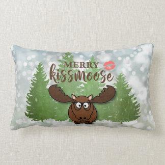 Merry Kissmoose, Optional Monogram/Text on Back Lumbar Cushion