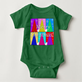 Merry Kitty Christmas Baby One-z T-shirts
