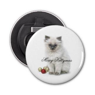 Merry Kittymas bottle opener
